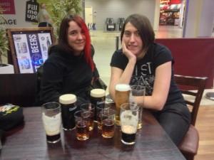 Celebration drinks - we've made it!